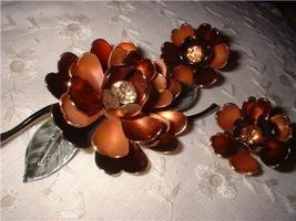 Vintage Jewelry Coro Broach Earrings Set - $35.00
