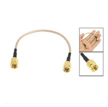 "6.5"" SMA Male to SMA Male Connector Pigtail Cable WiFi Booster Router AF2"