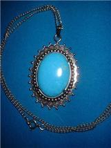 Vintage Jewelry  Pendant On Chain Necklace - $15.00