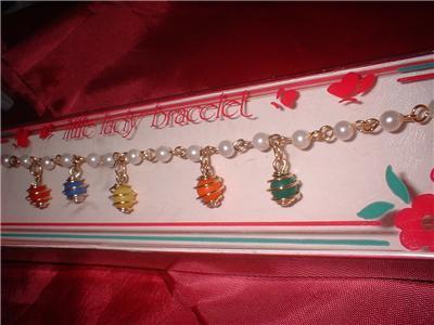 Vintage Jewelry  Little Lady Bracelet Original Box