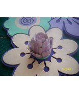 Purple Floral Shaped Collectible Trinket Box  - $7.95