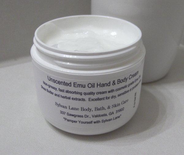Lemongrass Hand & Body Cream with Emu Oil Herbals 4oz Jar