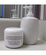 Lemongrass Hand & Body Cream with Emu Oil Herbals 4oz Jar - $9.99