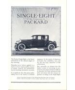 Superb 1923 Packard Single-Eight vintage car print ad - $10.00