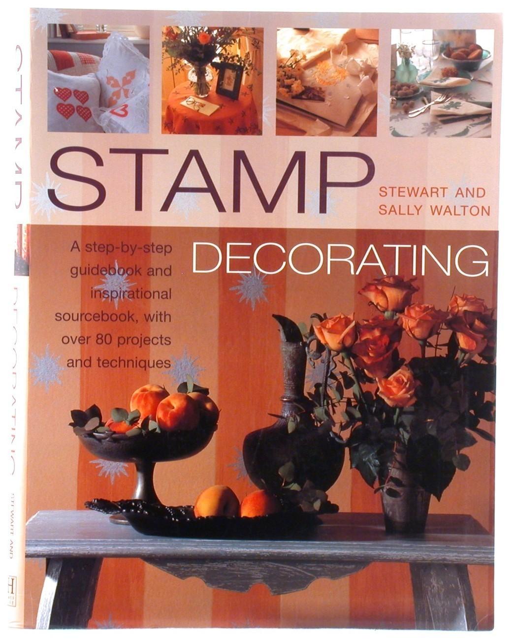 Book stamp decorating