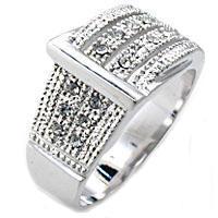 Ladies Designer Inspired Swarovski Crystal Ring NIB