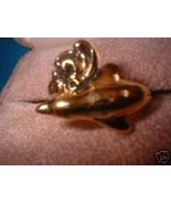 Ladies Porpoise Dolphin Ring Great Detail Size Choice - $14.00