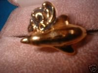 Ladies Porpoise Dolphin Ring Great Detail Size Choice