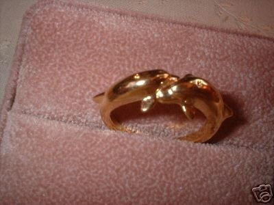 Ladies Porpoise Dolphin Friendship Ring NIB