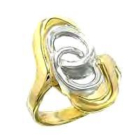 Ladies Designer Inspired Everlasting Love Ring NIB