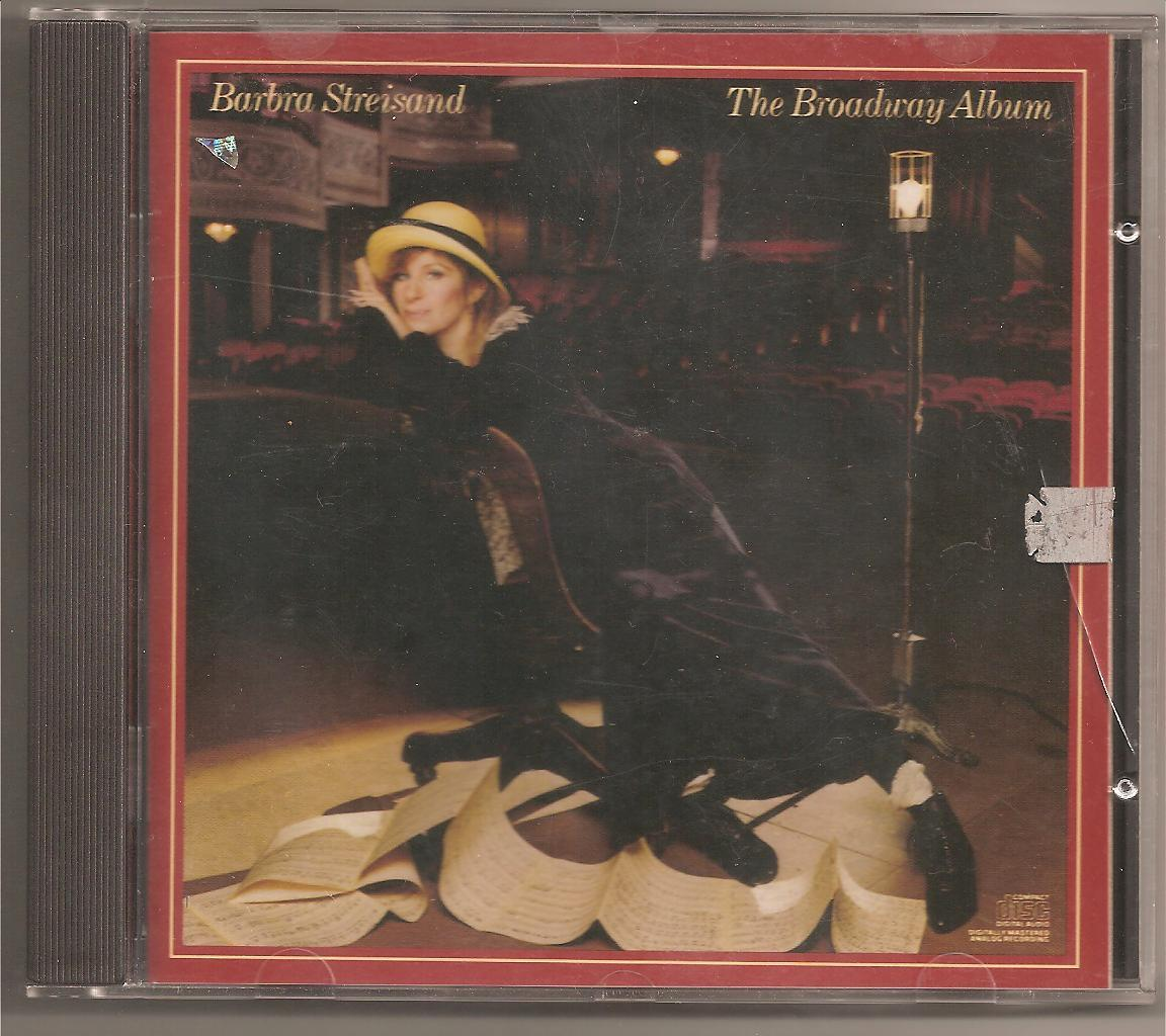 BARBRA STREISAND~~~~THE BROADWAY ALBUM~~~