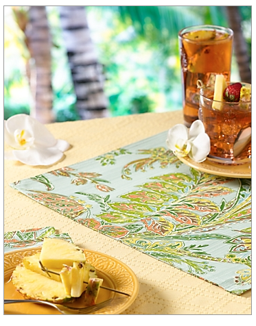 Tommy Bahama Cayo Vista Placemats - New with Tags