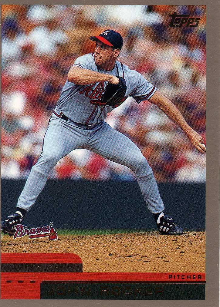 2000 Topps John Rocker Atlanta Braves Indians Rangers Rays