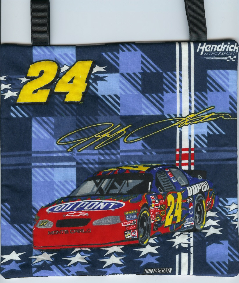 Nascar Mini Wall Hanging Quilt #24 Jeff Gordon