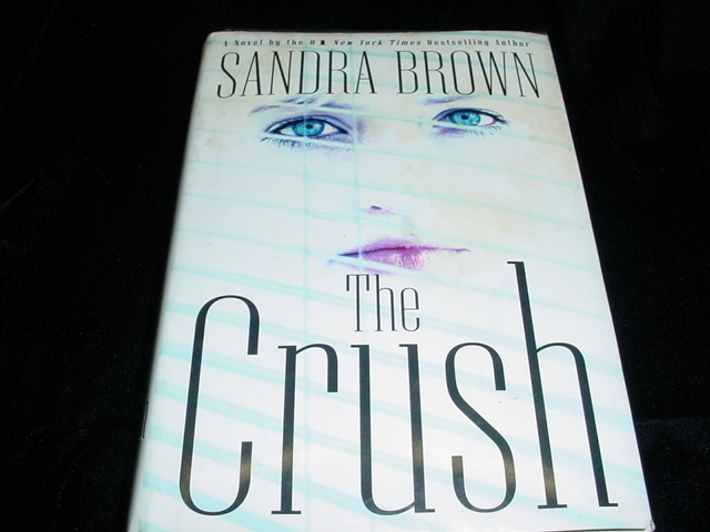 The crush sandra brown front cover