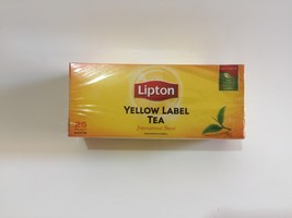 Lipton Yellow Label Tea Leaves Pack Bag 25 or 50 Sachets - $8.50+