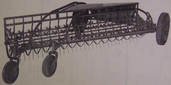 Oliver No. 2 Side Delivery Hay Rake Parts Manual - Original, 1960