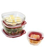 Easy Find Lid Glass Food Storage Container, 6-Piece Set (2856010) - $17.99