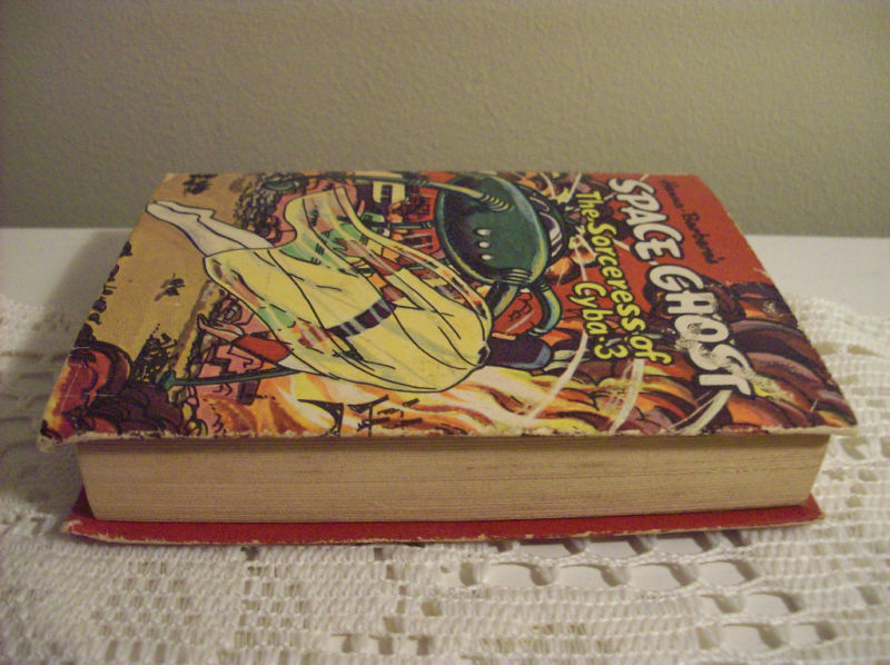 Vintage SPACE GHOST 1968 BIG LITTLE BOOK F/VF 1st print
