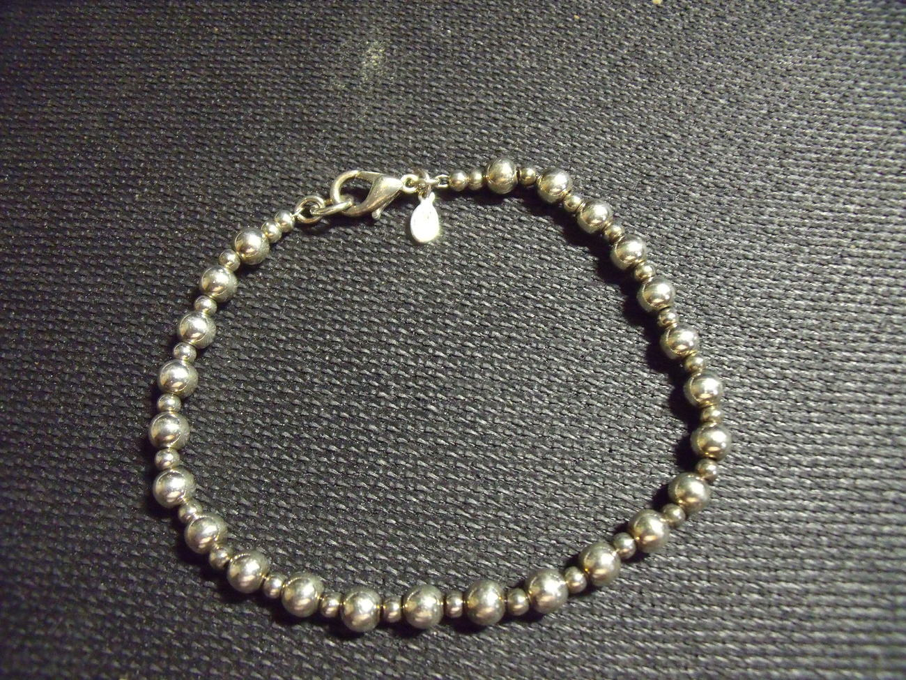 Premiere Designs Silver Beaded Bracelet