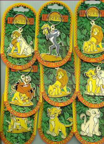 Disney Lion King Simba Key Chain rare