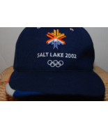 Salt Lake City 2002 Olympics Adult Cap - $20.00