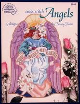 Cross Stitch Angels Nancy Rossi Needlework Patterns 9 Designs 3546 - $5.00