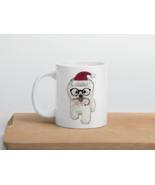 Christmas Bichon Frise puppy coffee Mug - $20.00+