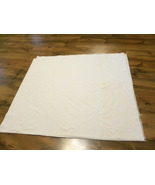 Large Vintage white tablecloth - $5.00