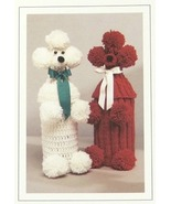 Knit & Crochet Pattern POODLE BOTTLE COVERS! JAO Pattern - $4.99