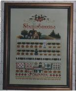 Strawberries Needlepoint Pattern New Crafts 8 X 11 inches - $4.99