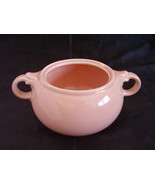 Lu Ray Pastel Pink Sugar Bowl No Lid Made in USA - $8.00