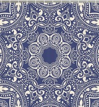 Moroccan Exotic Boho Print Fabric Shower Curtain Floral Mandala Bohemian... - $39.19