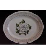Homer Laughlin Liberty Shape Windsor White Rose... - $38.00