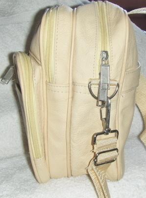 Genuine Leather Shoulder Bag / Handbag - #3085 TAN