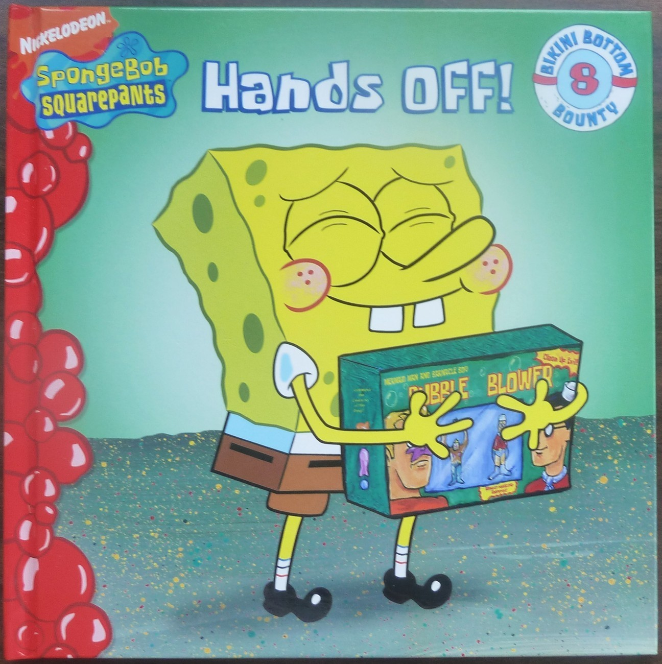 SpongeBob Squarepants Hands Off by David Lewman