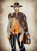 Blondie The Good The Bad and The Ugly Print - M... - $32.00