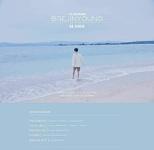 C9 BAE JIN Young - BAEJINYOUNG RE-Route (1st Photobook) 200p Photobook+1DVD+1Pos image 2