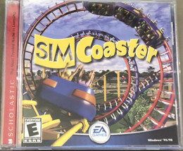 Sim Coaster (PC, 2001)  Complete Tested Working Good Condition EA Sierra  - $8.90
