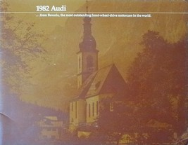 1982 AUDI full line DELUXE brochure catalog 4000 5000 Coupe - $10.00