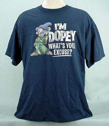 Dopey whats your excuse ts1