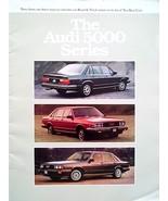 1980 Audi 5000 sales brochure catalog S Diesel Turbo - $10.00
