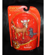 2008 Rudolph The Red Nosed Reindeer  Posable Holiday Figure NIP - $29.99