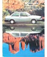 1980 Audi 4000 sales brochure catalog US 80 HUGE - $10.00