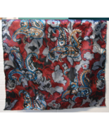 Mens Paisley Pocket Square Handkerchief - $5.00