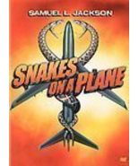 SNAKES ON A PLANE 2007 DVD NEW FACTORY SEALED JACKSON - $7.99