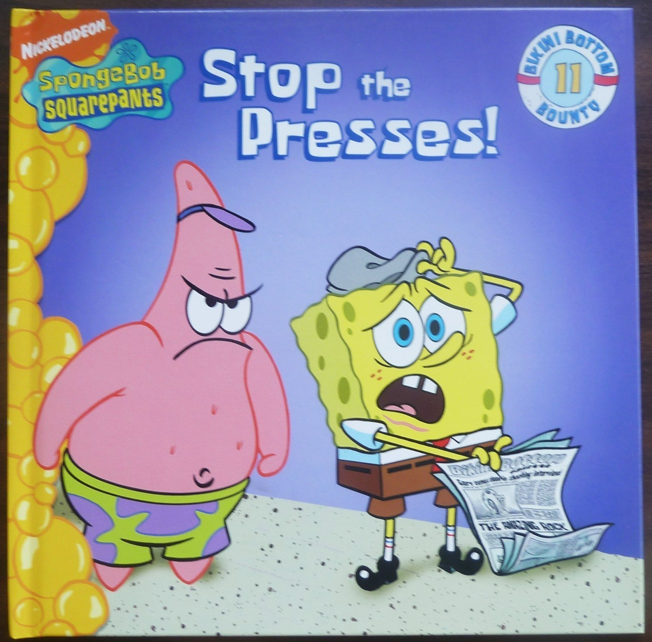 SpongeBob Squarepants Stop the Presses by Steven Banks