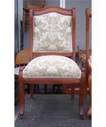 Cherry Sidechair/Parlor Chair-elegant cream print - $288.18