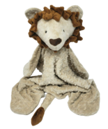 BABY BROWN / TAN LION DIMPLE DOT SECURITY BLANKET STUFFED ANIMAL PLUSH L... - $64.52