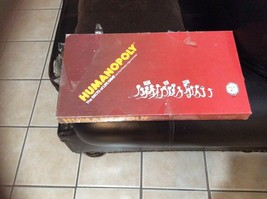 1983 Humanopoly Board Game New Sealed Unopened Vintage - $116.60